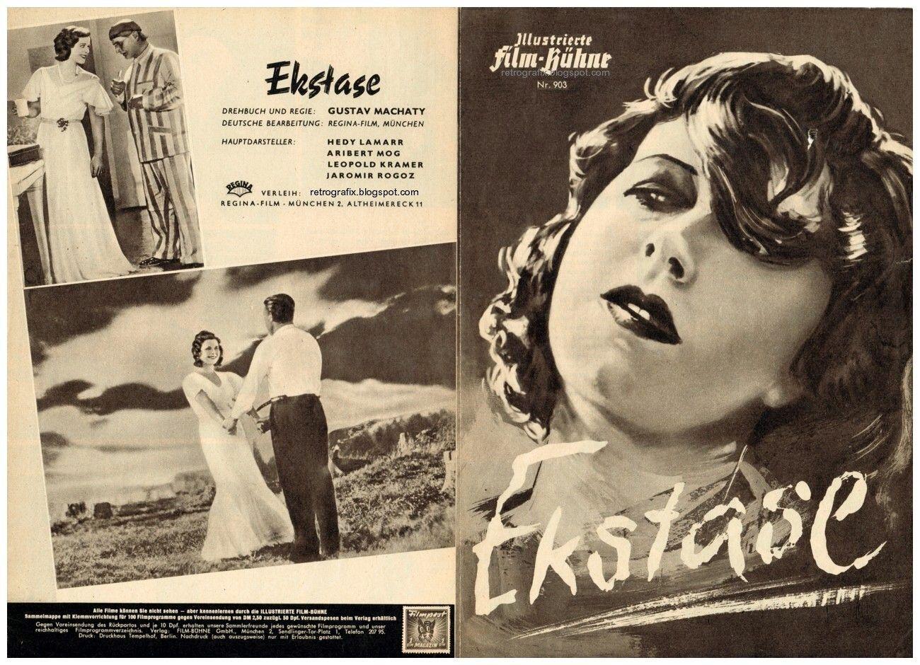 ekstase 1933 - Google zoeken | Hedy lamarr, Film, Steamy