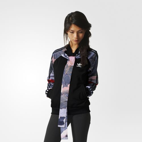 64ebd86c67a Jaqueta Kimono Rita Ora - Preto. adidas - Kimono Track Jacket ...