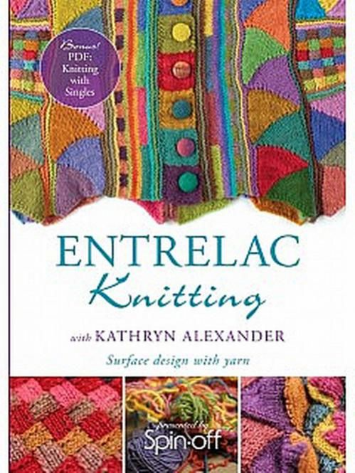 Unicorn Knitting Books : Knitting entrelac dvd unicorn food for the brain