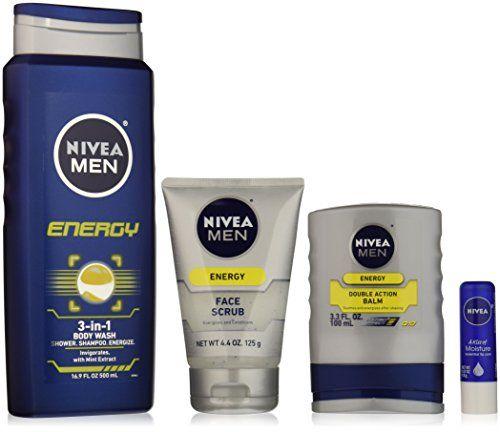 Nivea Men 4 Piece Energy Collection Gift Set