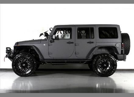 Jeep Automobile Jeep Wrangler Unlimited With Grey Kevlar Liner