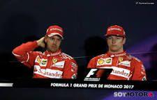 """Malestar por estrategia de Ferrari en GP Mónaco F1 2017 """"El resultado es bueno para el equipo, pero no para mí"""" dijo Kimi Raikkonen"""". El piloto finlandés, aunque decepcionado, no cuestiona la estrategia de Ferrari."""