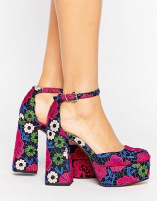 a9a32557040 PAINT THE TOWN Platform Heels in 2019 | Shoes | 70s shoes, Heels ...