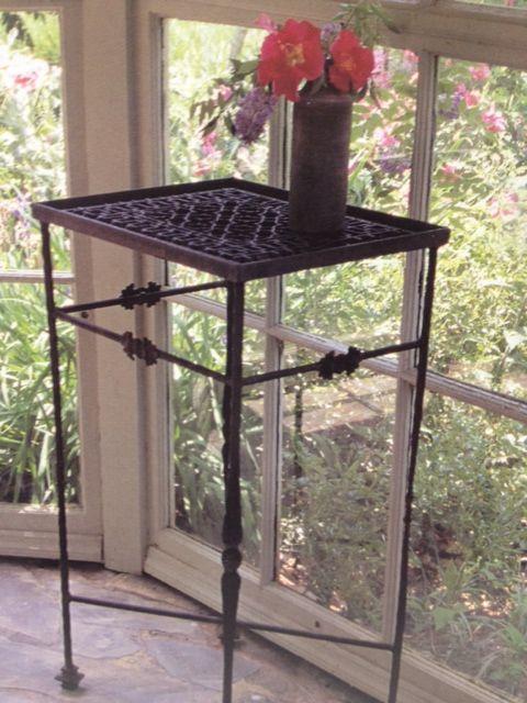 Vintage Furnace Grate Table Decorating With Hvac
