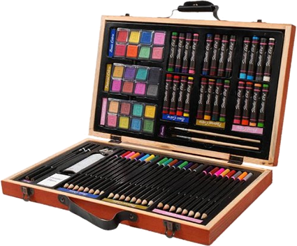 Treat The Artist On Your List To Something Professional With These High Quality Professional Artists Sketch Kits An Affordab Art Set Drawing Supplies Art Kit