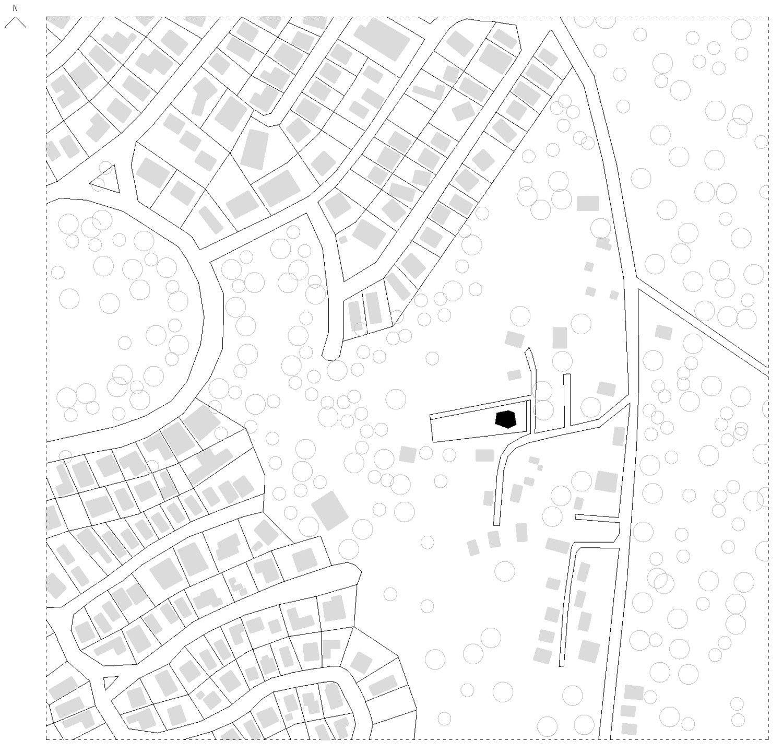 Fosc House,Situation Plan