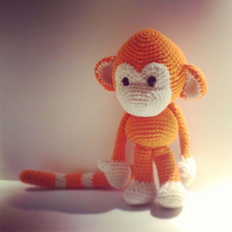 Amigurumi monkey | monkey | Pinterest | Affen, Stricken und häkeln ...