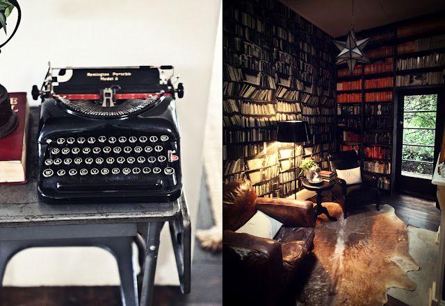Love old typewriters!