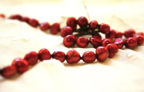 Red Favorites!  by Kathryn Hampton on Etsy