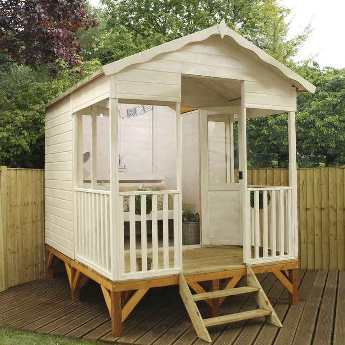 Premium 8 x 105 Ft Shiplap Summer House in 2018 Woodland Cabin