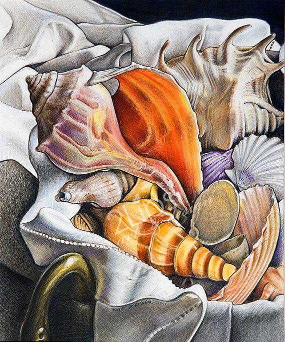 Fine Art Print of an original still life in by 2LipsArtDesign, $100.00
