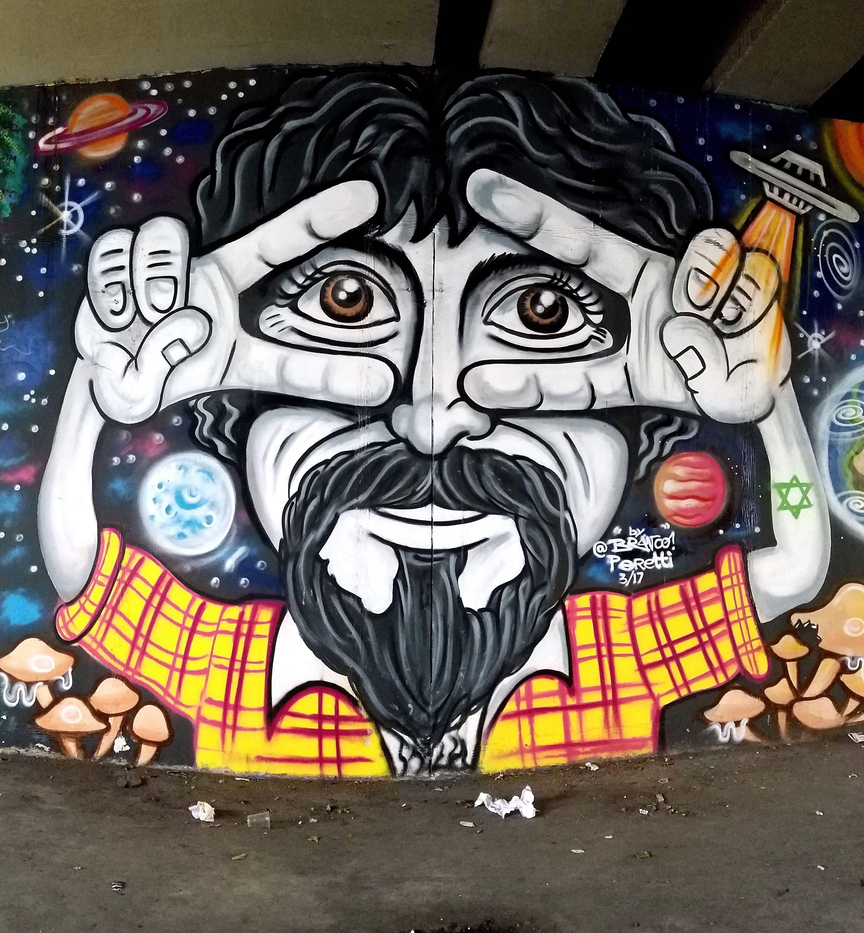 Sao Paulo Brasil Amazing Street Art Graffiti From The Avenida