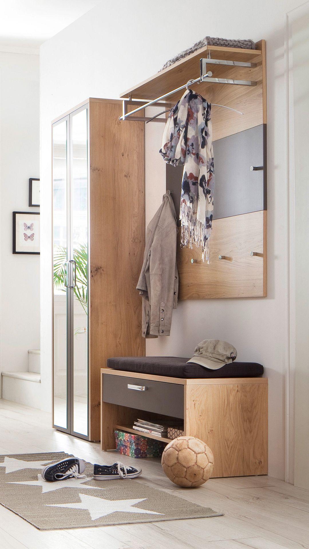Wittenbreder Garderobe Multi Color Wood Basalt Mobel Letz Ihr
