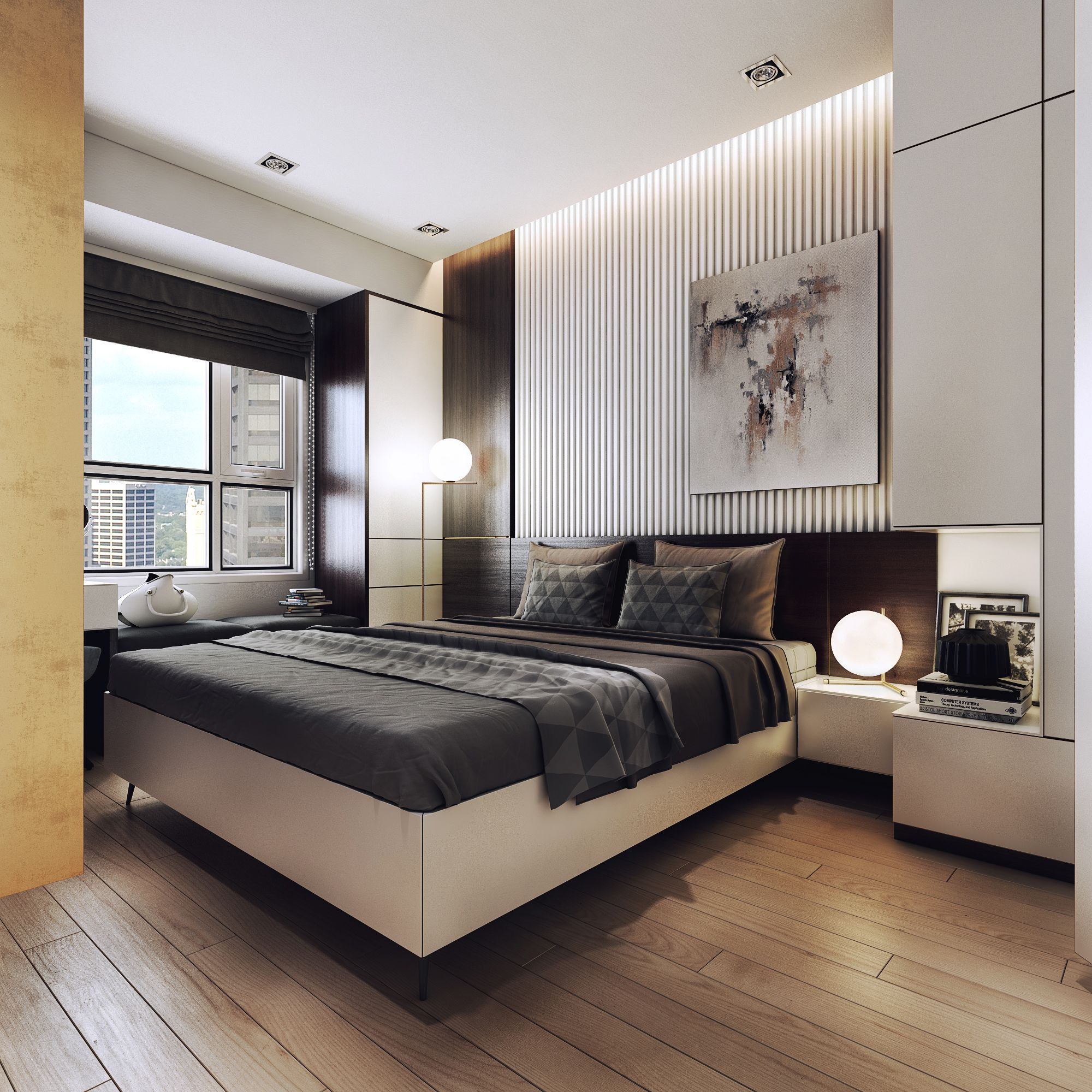 Luxurious Apartment With Dark Interiors And Stunning Lighting SEE MORE