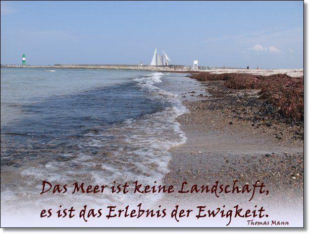 Das Meer Ist Keine Landschaft ...   Thomas Mann
