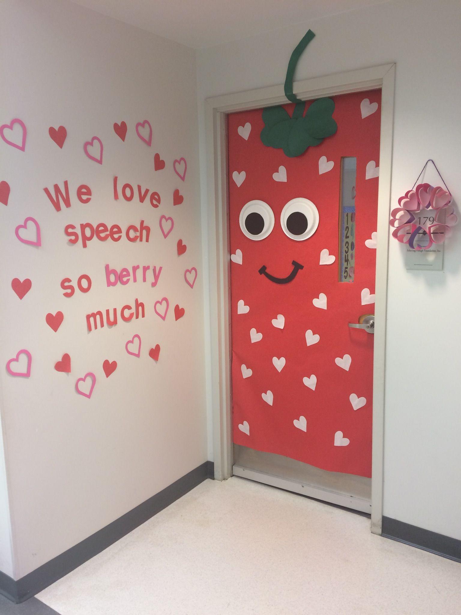 Valentine S Day Preschool Door Decoration