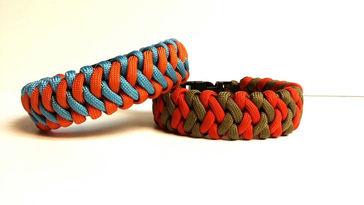 How To Make The Cross Hitch Paracord Bracelet By Juan Lino Perez