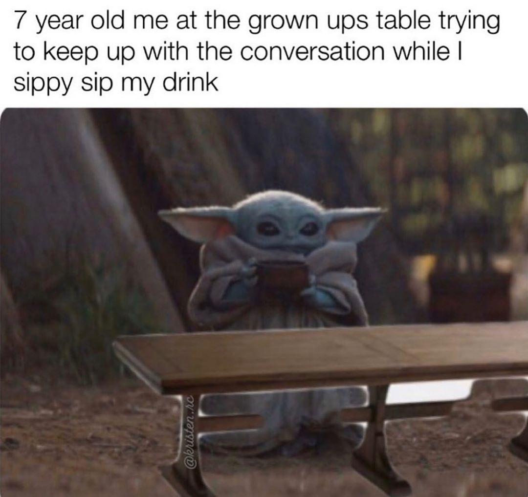 8 Funny Baby Memes Clean Yoda Funny Yoda Meme Funny Babies
