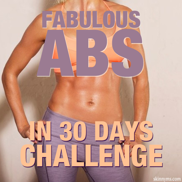 Fabulous #Abs in 30 Days Challenge!!