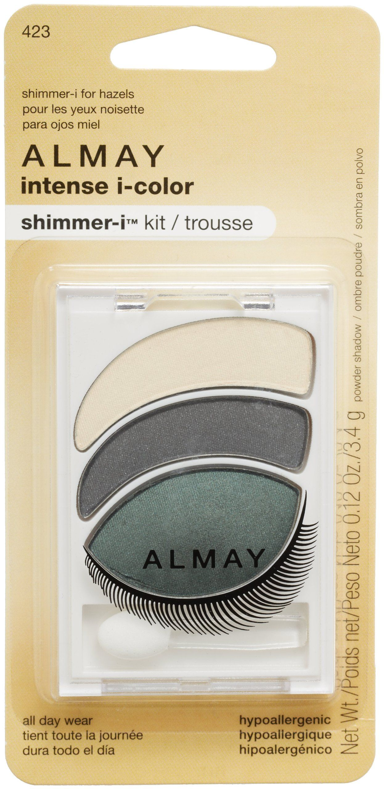 almay intense icolor shimmeri kit hazel >>> details can be