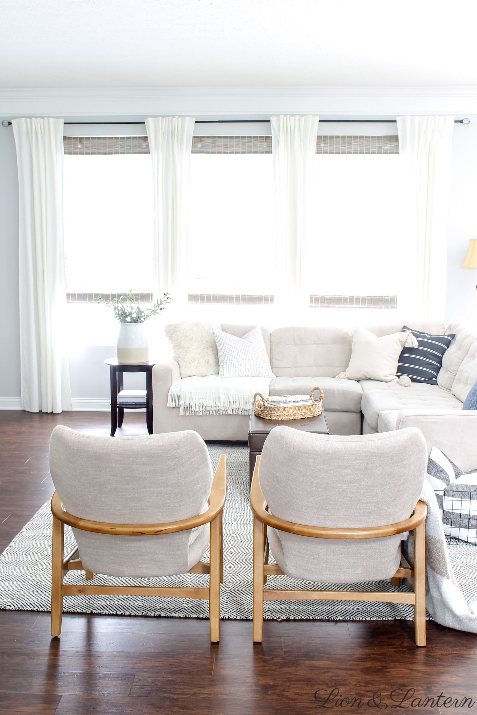 Coastal Modern Affordable Accent Chairs | Accent chairs ...