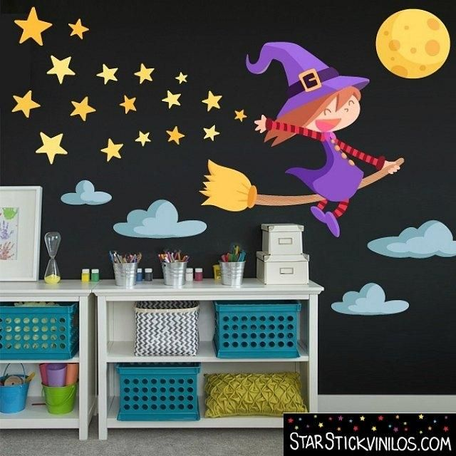 Decorar Halloween con vinilos infantiles Pinterest Vinilo