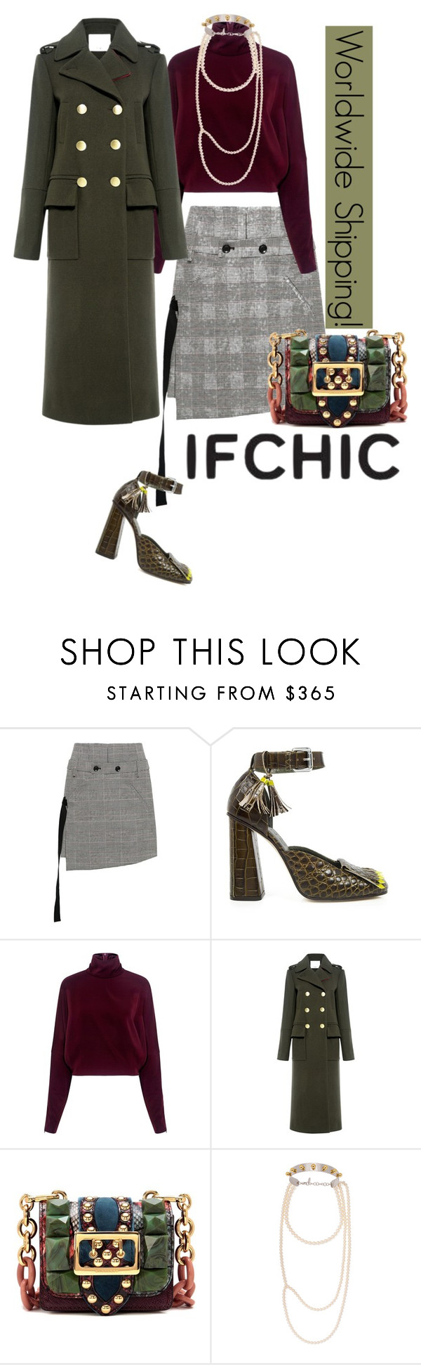 """If Chic--Now offering shipping worldwide!"" by felicia-mcdonnell ❤ liked on Polyvore featuring Marissa Webb, SUNO New York, McQ by Alexander McQueen, TIBI, Burberry and Joomi Lim"