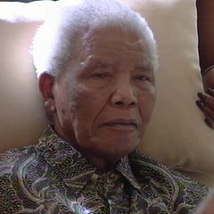 In this file photo taken from video, the ailing anti-apartheid icon Nelson Madela is filmed April 29, 2013.
