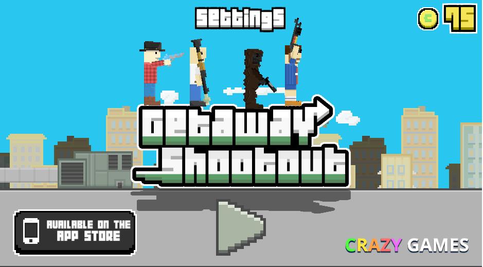Getaway Shootout Crazy Games Getaways Games