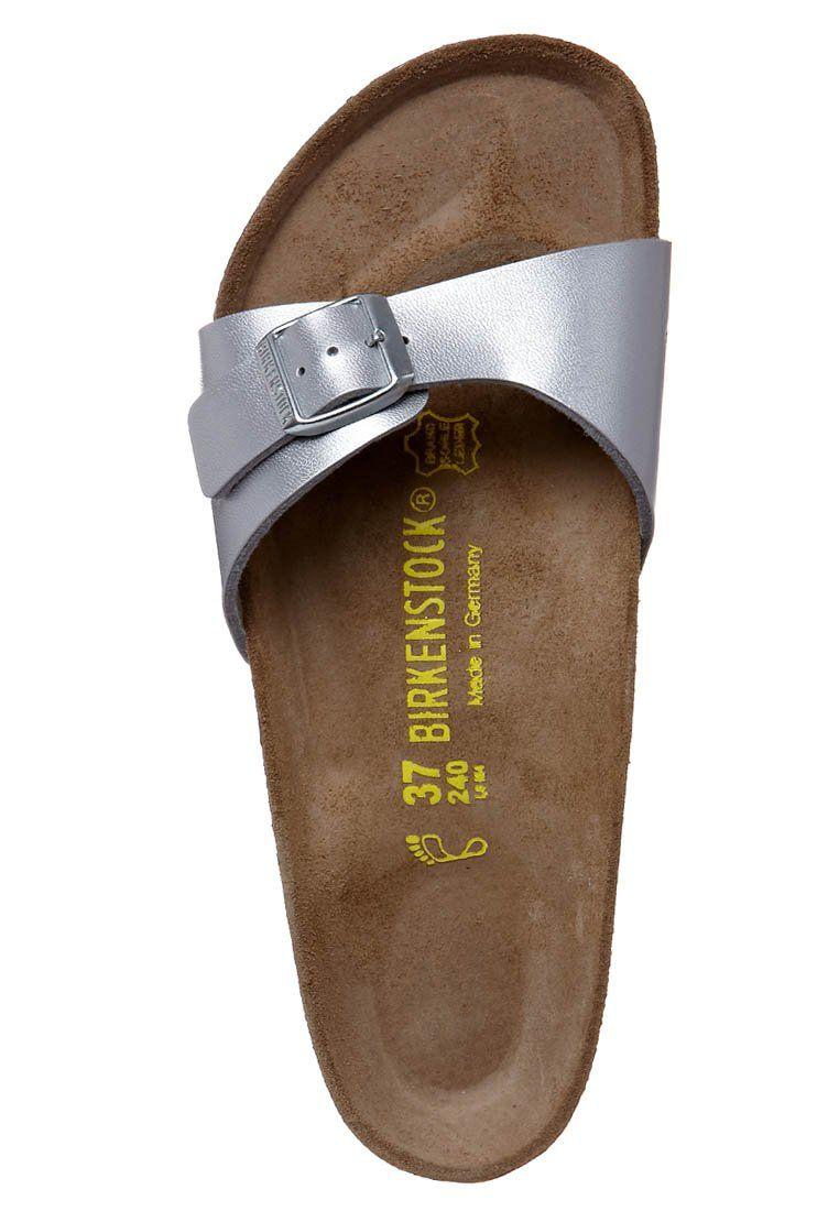 pulmón impermeable Playa  Birkenstock MADRID - Sandals - silver - Zalando.co.uk | Birkenstock,  Birkenstock madrid, Madrid