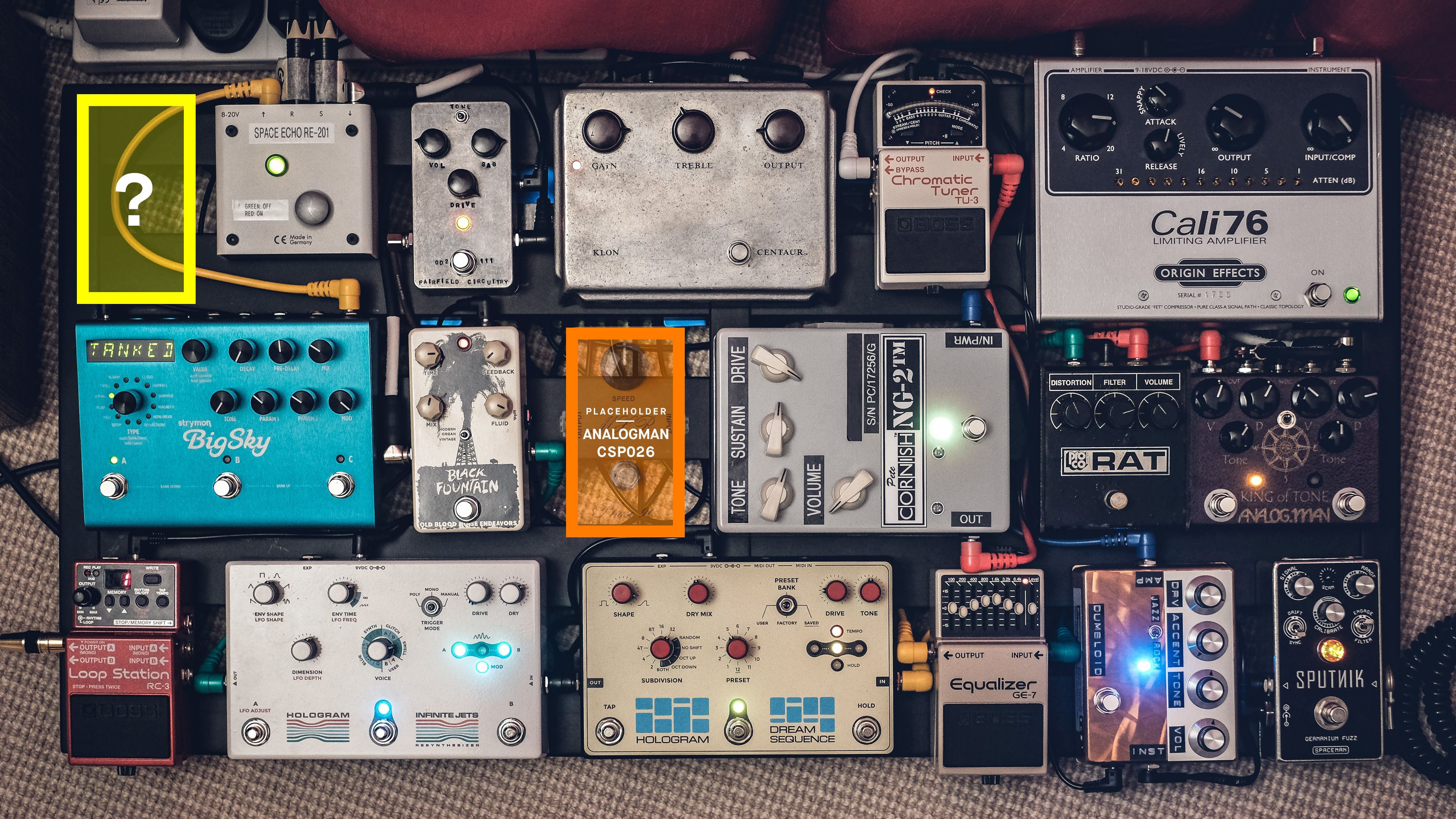 Fill my hole guitar pics guitar pedals holes