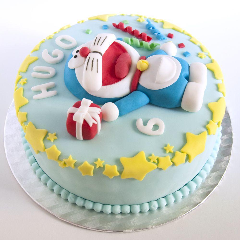 Doraemon Cake (I love this blog). | Doraemon | Pinterest | Torten