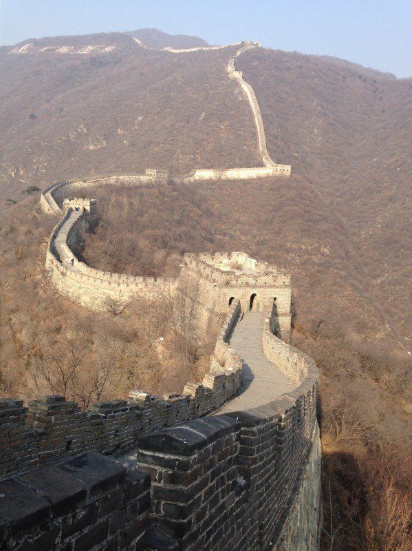 The Great Wall of China in November