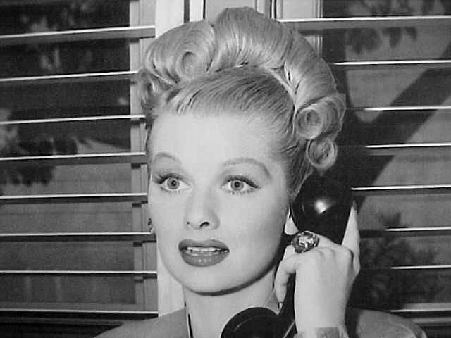 Lucy on the Phone #lucilleball