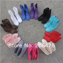 NEW ARRIVAL Free shipping High quality knitting hollow out Summer boots 12 Colors US 4-10 Fashion Ankle boots for women(China (Mainland))