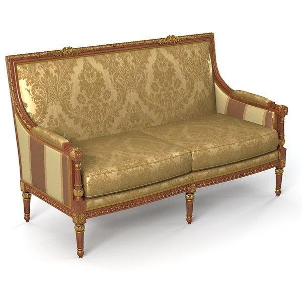 Classic Empire Style Sofa
