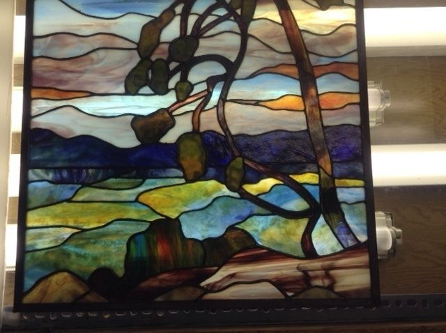 hello, my name is theresa. i have been studying and practising the art of stained glass for over 30 years. i have created many pieces from beautiful candle holders and picture frames to breath taking windows using cathedral glass and tiffany style lamps. i would love the opportunity to assist you with creating and/or restoring your priceless stained glass pieces. my rates are v