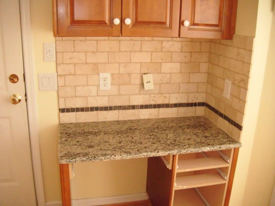 Beau Prevent Dull Kitchen With Subway Tile Backsplash : Simple Subway Tile Backsplash  Ideas