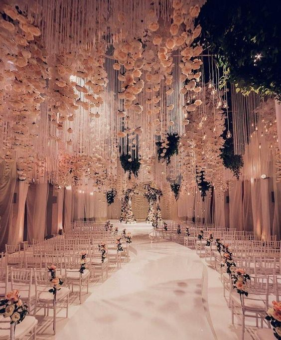 Indoor Wedding Reception Ideas: 55 Elegant Design Ideas For Wedding Decor