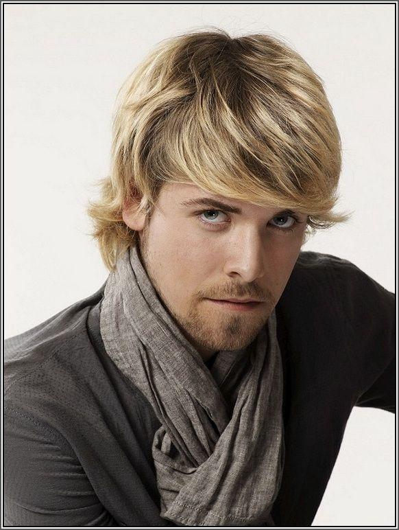 Blonde Highlights On Black Hair Men