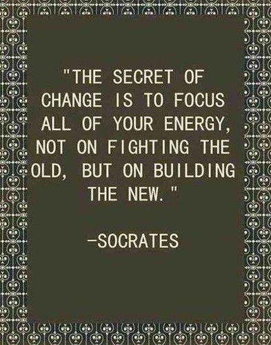 The secret of change The secret of change