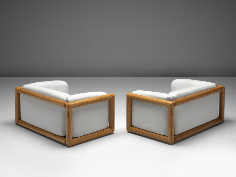 Carlo Scarpa Cornaro Lounge Chairs For Simon 1973 For Sale At
