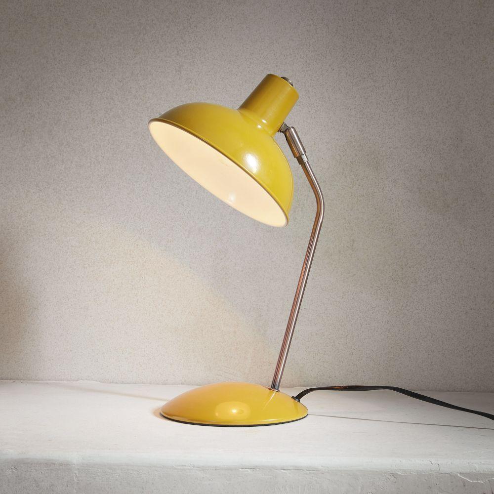 Lámparas y de escritorioLámpara vintage mesaLampara de 3AL4R5j