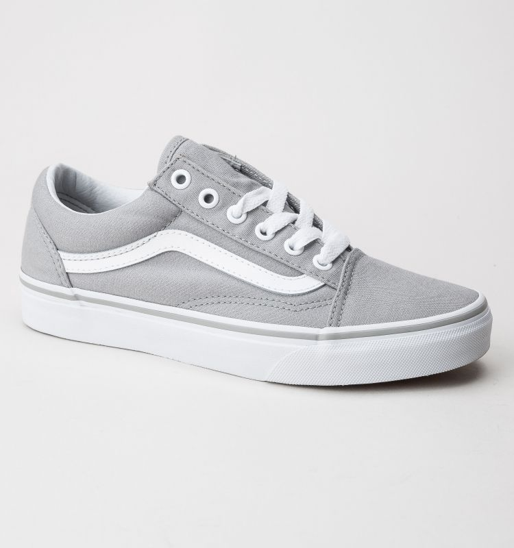 f2ad5c0293af Vans Old Skool Trainers Drizzle-True White