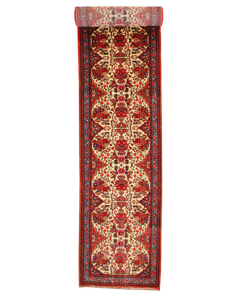 2'9 X 16'8 Traditional Hand Knotted Rug