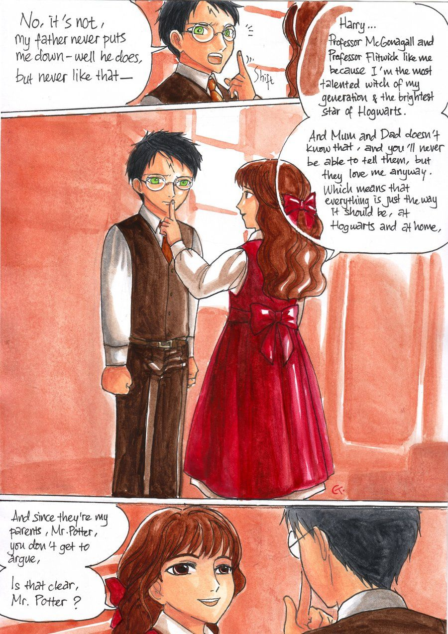 Sweet Moment Harry Potter Series Harry And Hermione In This Moment