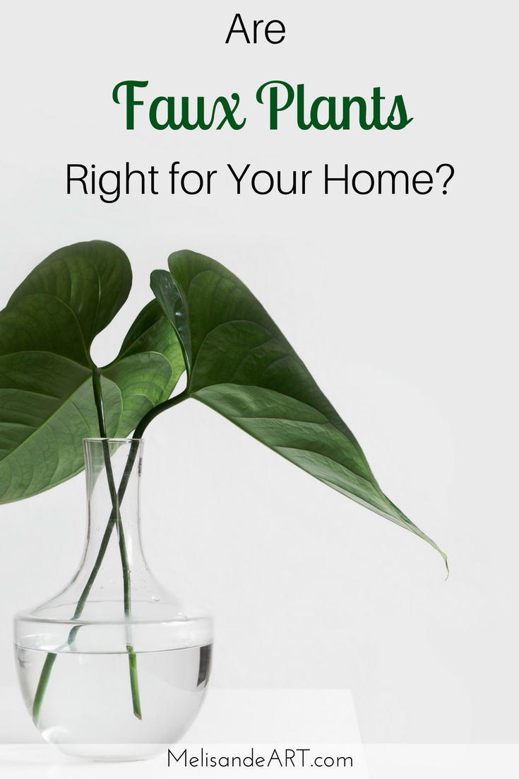 Living or artificial plants which is best for your home diy home