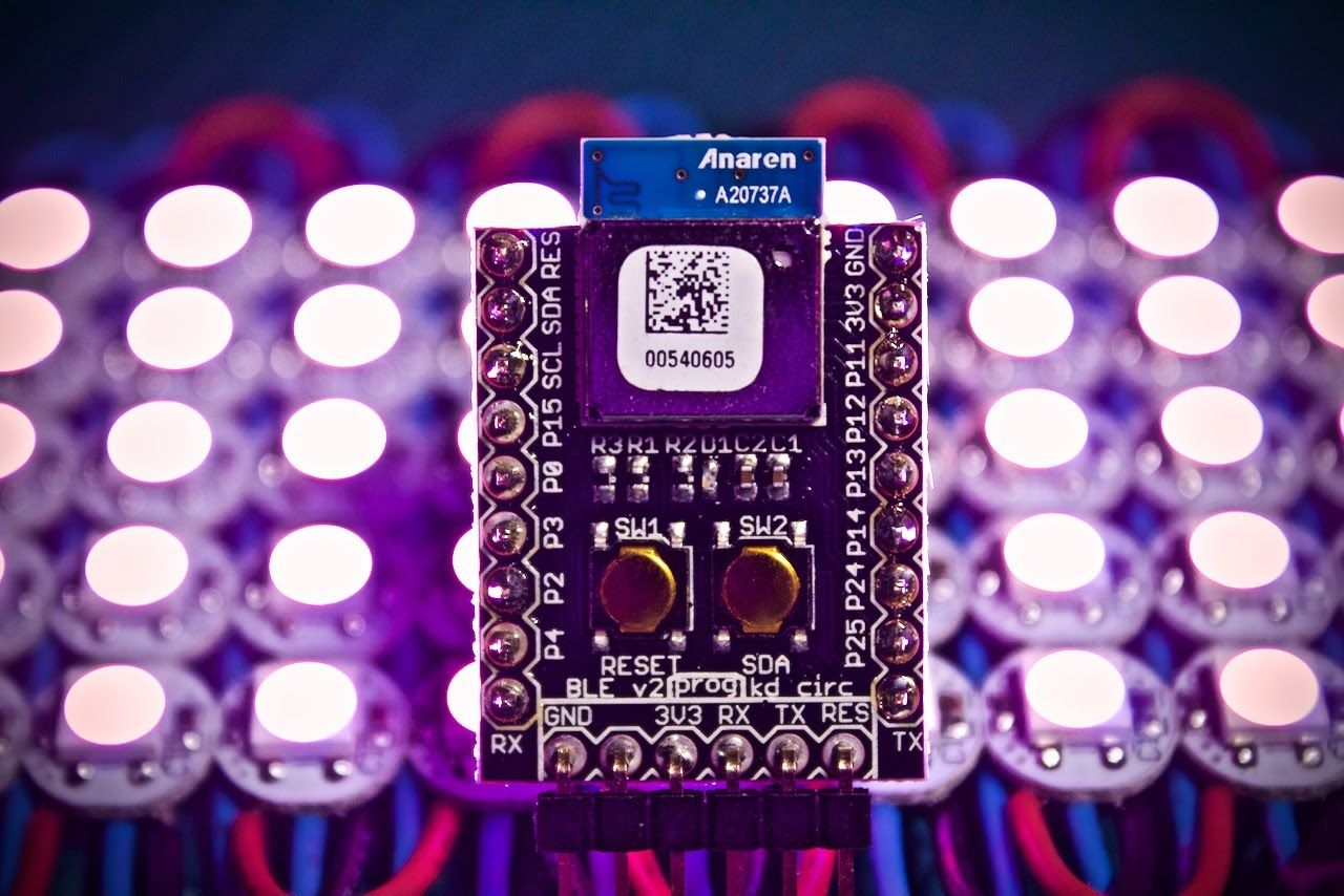 Easy Bluetooth Controlled Addressable LEDs! (WS2812 +