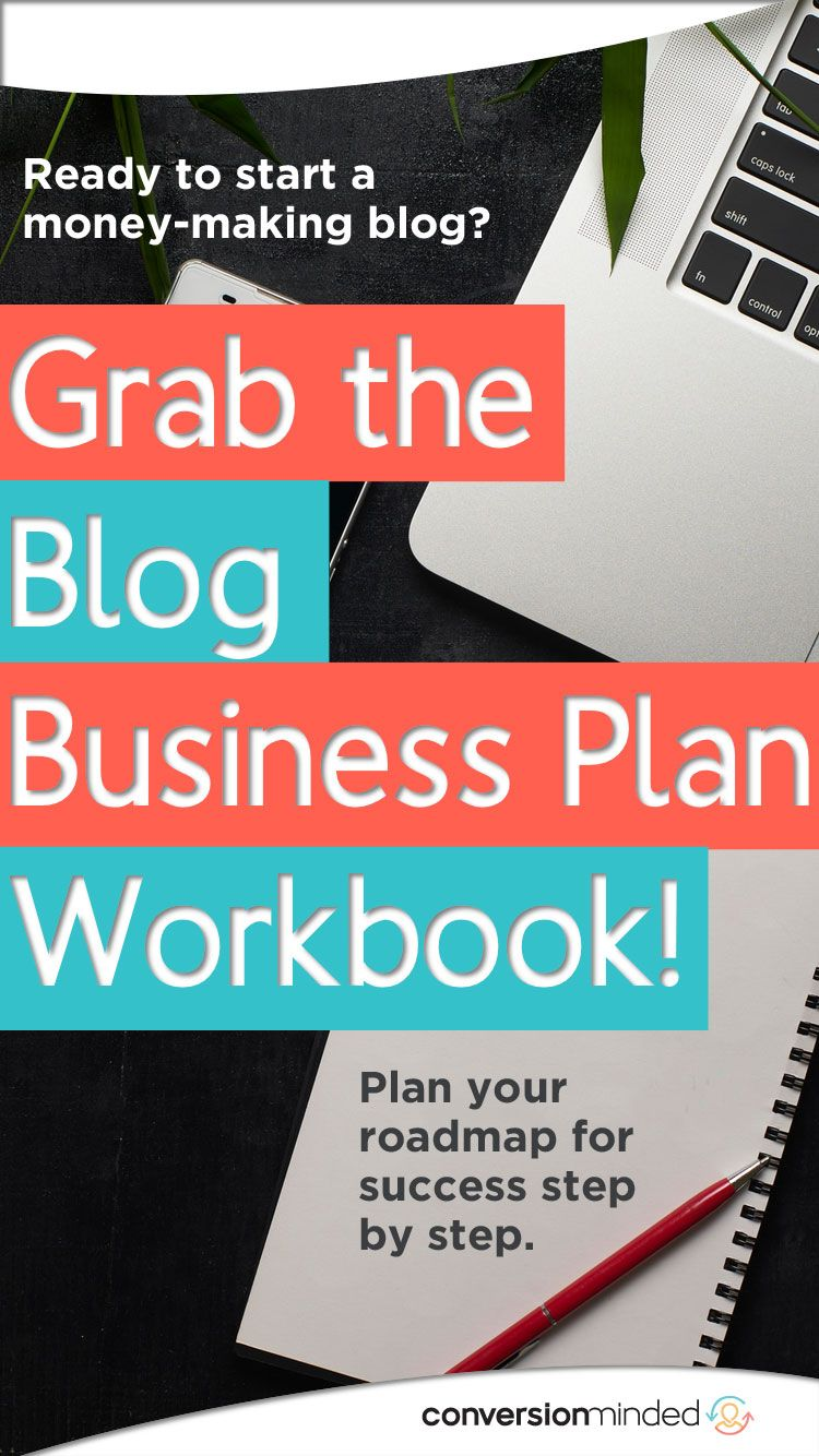 The Blog Business Plan Workbook Blog business plan