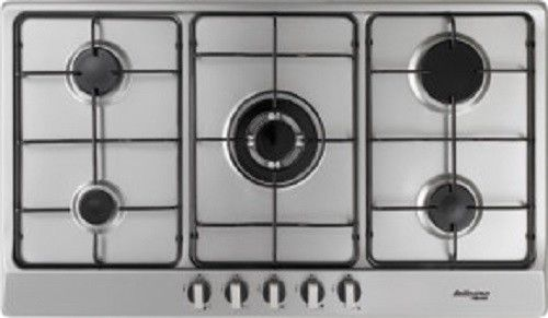 Cooktop Technika Bellissimo 90cm 5 Burner Stainless Steel Gas Lpg
